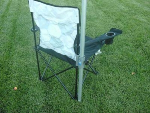 Snap-N-Go Chair Umbrella Holder